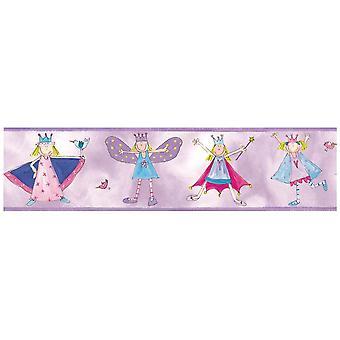 Room Mates Fairy Princess Wallpaper Border (en)