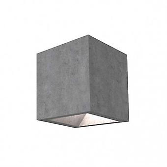 LED de pared exterior de cemento gris IP65