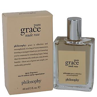 Pure grace nude rose eau de toilette spray by philosophy 541333 60 ml