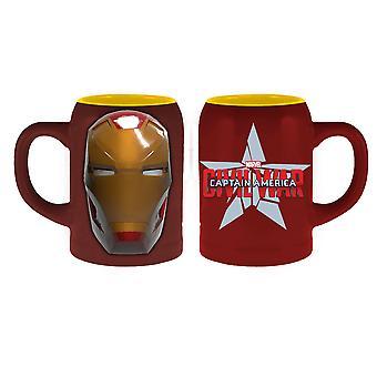 Molded Mug - Marvel Civil War - Iron Man New mcmg-cw-imhd
