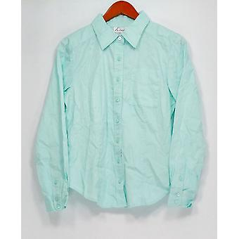 Linea by Louis Dell'Olio Top Button Front Shirt Light Green A214116