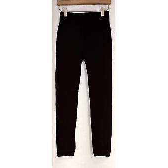 Kate et Mallory Leggings Seamlesswith Fleece Lining Brown Womens A428086