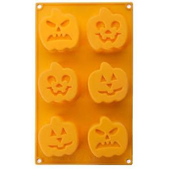 Ibili Cavity Mold 6 Pumpkin (Kitchen , Bakery , Molds)