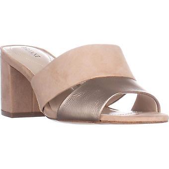 Alfani Womens Rochelle couro aberto Toe Slide Casual sandálias