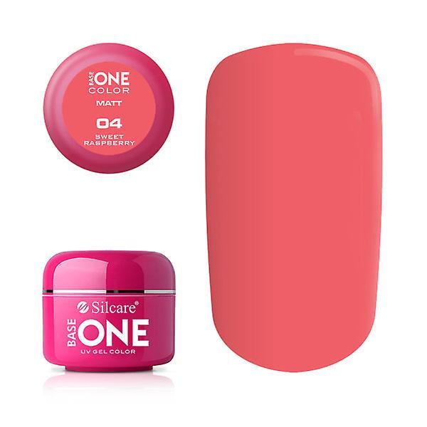 Base en-Matt-Sweet bringebær 5G UV gel