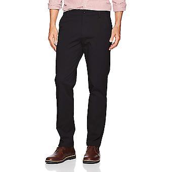 Dockers män ' s Slim avsmalnande passform arbetsdag khaki, svart (stretch), storlek 32w x 32l