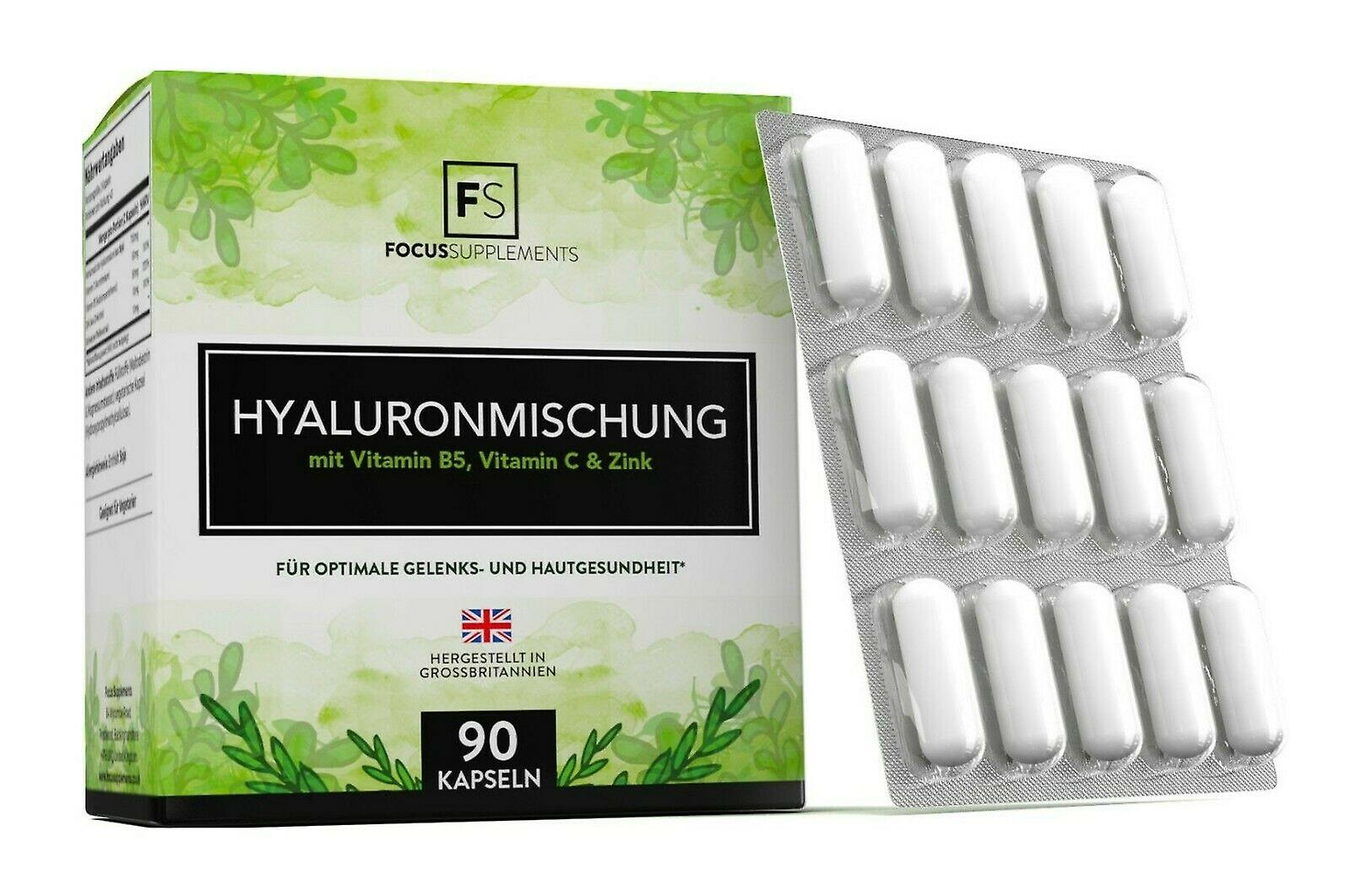 Focus Supplements Hyaluronic Acid Blend (350mg) Capsules