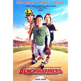 Benchwarmers (kaksipuolinen säännöllinen) alkuperäinen elokuva juliste