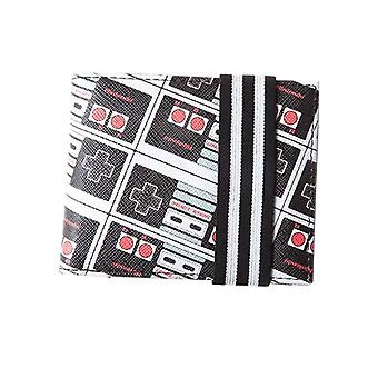 Nintendo Wallet NES Controller All over print new Official Gamer Bifold
