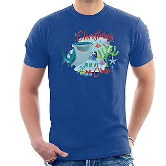 Disney Finding Dory Christmas Here We Come Men's T-Shirt