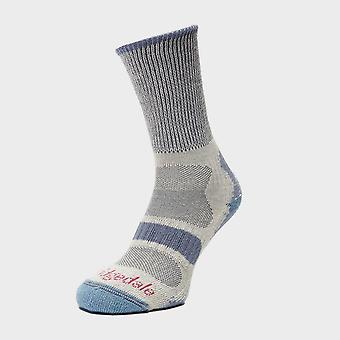 Nowe Bridgedale Kobiety's Hike Lightweight Sock Blue
