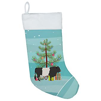Carolines Treasures  BB9198CS Belted Galloway Cow Christmas Christmas Stocking
