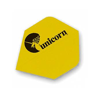 Unicorn Darts Maestro.100 Plus Flights Micron Logo Ultra Strong - Yellow