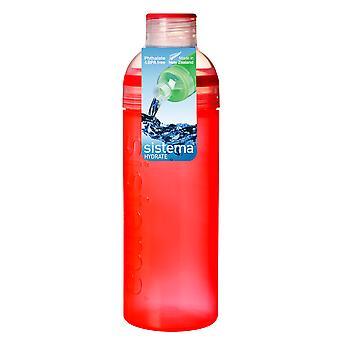 Sistema Trio Drink Bottle 700ml, Orange