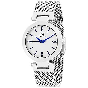 Roberto Bianci Women's Cristallo Silver Dial Watch - RB0400