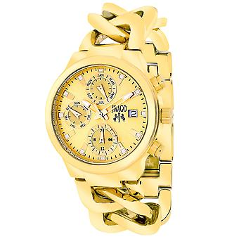 Jivago Women's Levley Gold tone Dial Watch - JV1242