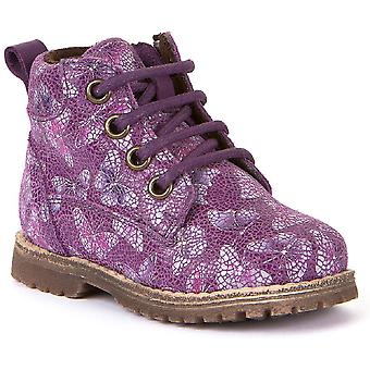 Froddo Girls G2110076-2 Boots Lilac Butterfly