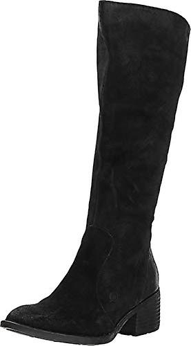 Urodzony Felicia Black Distressed Kobiety's Pull-on Boots QROCV