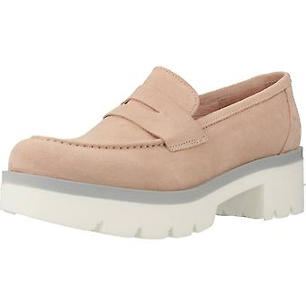 Jaune Loafers Spinel Color Nude