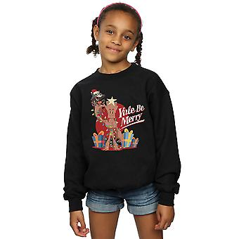 Marvel Girls Yule Be Merry Sweatshirt