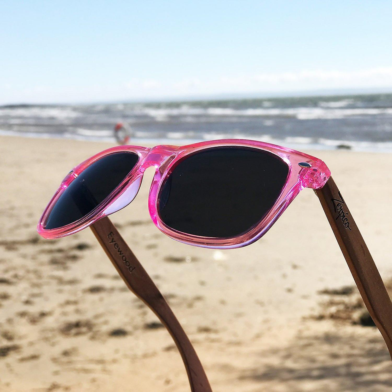 Eyewood Sunglasses - Wayfarer - Coral