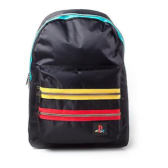 Sony Playstation Retro Logo Backpack Casual Daypack Multi-Color (BP718645SNY)