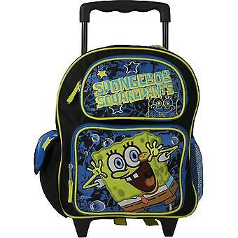 Small Rolling Backpack - Spongebob - Toddler New School Bag 802834