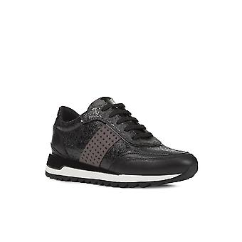 Geox Womens D Tabelya A Lace Up Trainers
