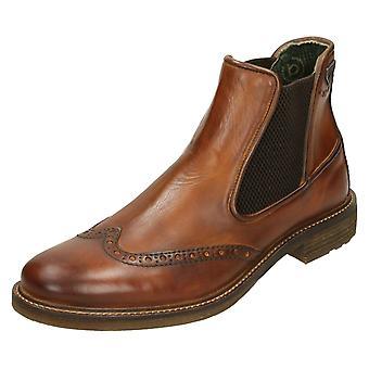 Mens Bugatti Ankle Boots 311-3773A-1100
