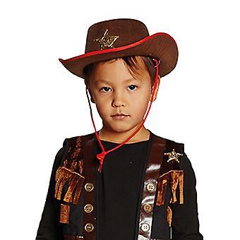 Chapeau de Cowboy brun Kids