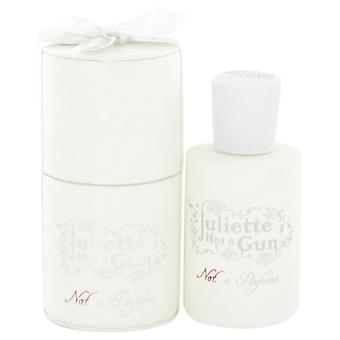 Ikke en parfume eau de parfum spray af juliette har en pistol 517063 50 ml