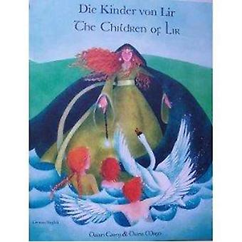 The Children of Lir in German and English by Dawn Casey & Illustrated by Diana Mayo
