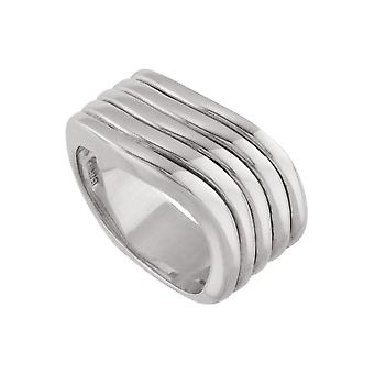 925 Sterling Silver Size 6 Polished Fashion Ring Jewely Gifts for Women - 12.1 Grams