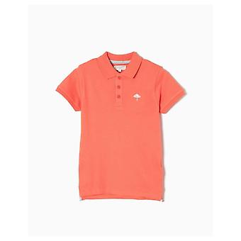 Zippy Polo Piquet Orange Special Edition B & S