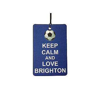 Holde ro og elsker Brighton bil Air Freshener