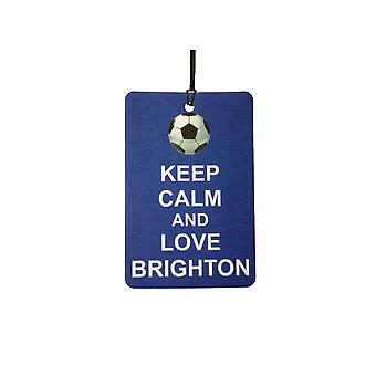 Gardez votre calme et aime Brighton Car Air Freshener
