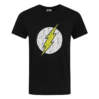 Offical Flash Distressed Logo Men's T-Shirt