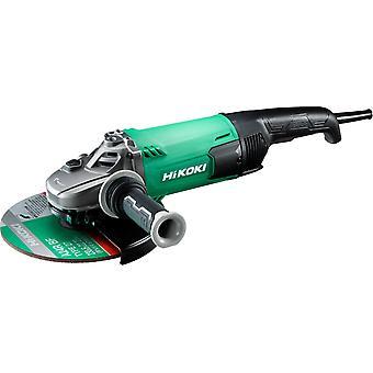 HiKOKI G23SC4 2400W 230mm Angle Grinder Low Vibration 110v