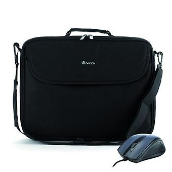 Briefcase for Portable and NGS BUREAUKIT 16 '' black mouse