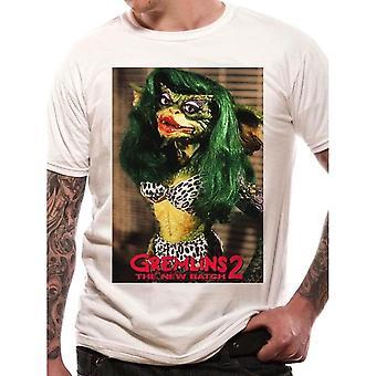 Men's Gremlins Greta White Crew Neck T-Shirt