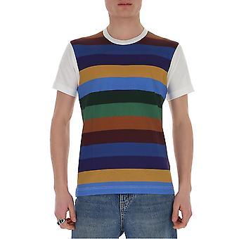 Comme Des Garçons Shirt S281033 Men's Multicolor Cotton T-shirt