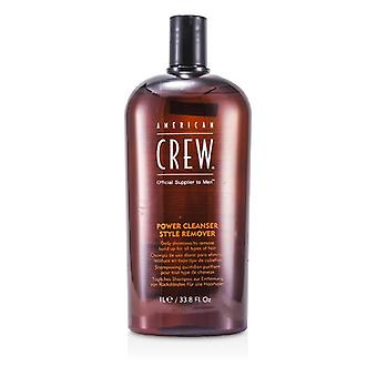American Crew Men Power Cleanser Style Remover Daily Shampoo (for All Types Of Hair) - 1000ml/33.8oz