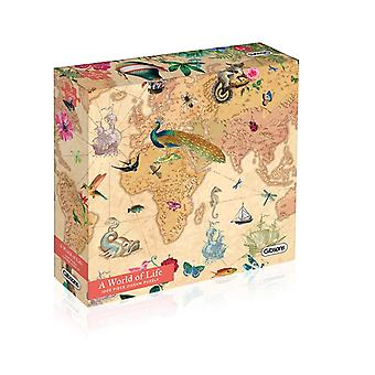 Gibsons World of Life Contemporary Jigsaw 1000 Pieces