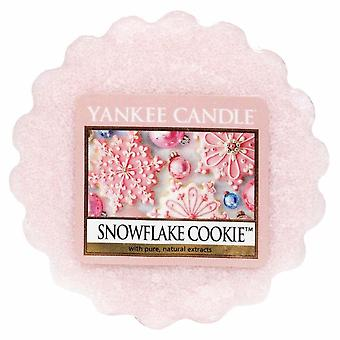 Yankee Candle Wax Tart Melt Snowflake Cookie