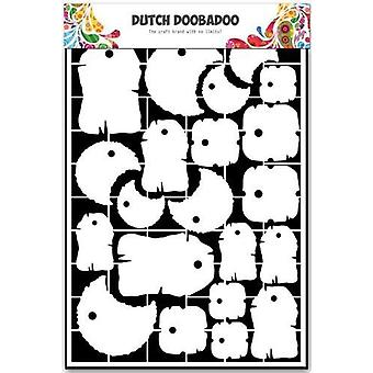 Dutch Doobadoo Dutch Paper Art labels - A5 472.948.028