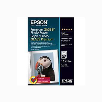 Papier do błyszczących zdjęć Epson Premium - PGPP 4x6 50 arkuszy 255gsm/2