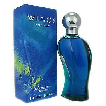 Vleugels voor mannen door giorgio beverly hills 3.4 oz eau de toilette spray