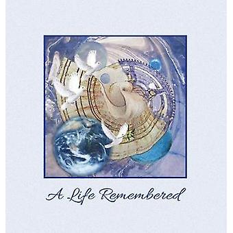 A Life Remembered Funeral Guest Book Memorial Guest Book  Condolence Book Remembrance Book for Funerals or Wake Memorial Service Guest Book A Celebration of Life and a lasting memory for the fa by Publications & Angelis