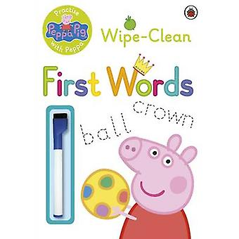 Peppa Pig - Practise with Peppa - Wipe-Clean First Words - 97807232977