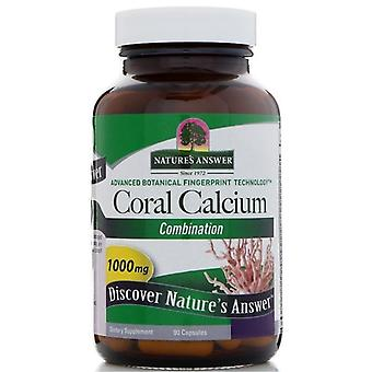 Nature's Answer Coral Calcium Caps 90 1590